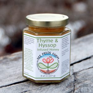 Thyme & Hyssop Infused Honey