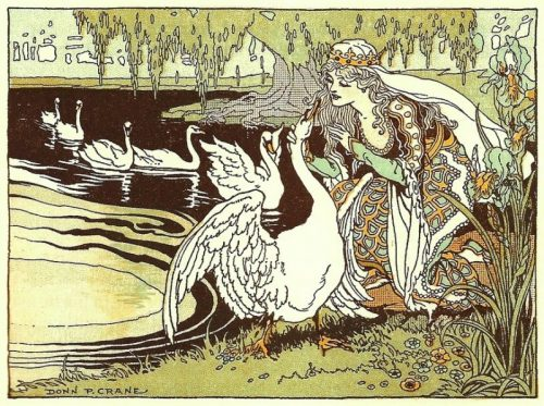 princess and swans
